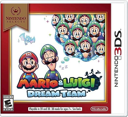 mario and luigi dream team 3ds review