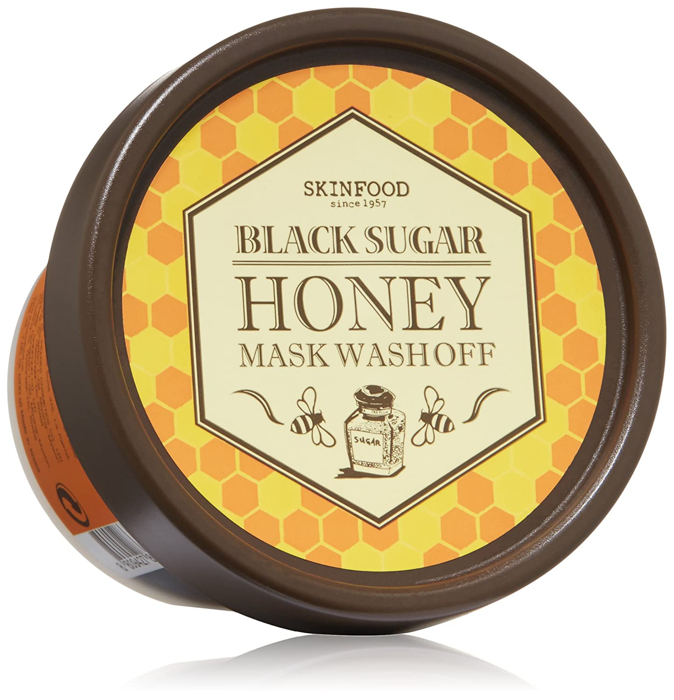 Skinfood Black Sugar Honey Mask, 7.05 Ounce