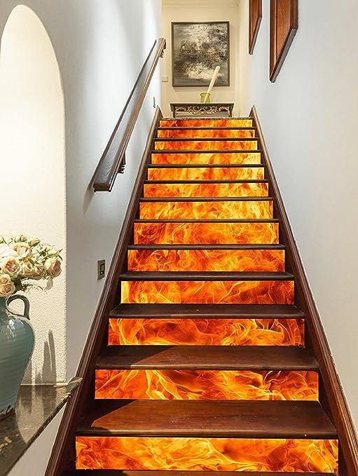 Estrellaw Chaud Fire Peinture D Escalier Espaceurs