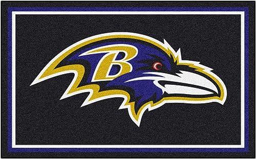 Fanmats Baltimore Ravens 4×6 Rug
