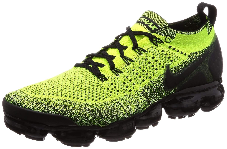 Volt noir Volt 701 Nike Air Vapormax Flyknit 2, Chaussures de Running Compétition Homme 45 EU