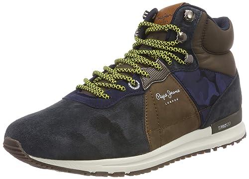 Pepe Jeans Tinker Pro-Boot, Zapatillas Altas para Hombre: Amazon.es: Zapatos y complementos