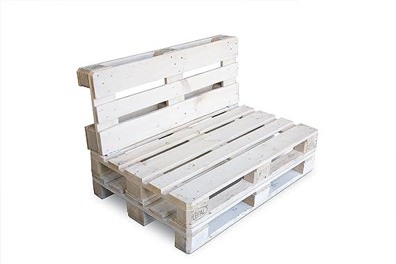 CLC ARREDO Divanetto pallet richiudibile Made In Italy - Colore Bianco: Amazon.it: Casa e cucina