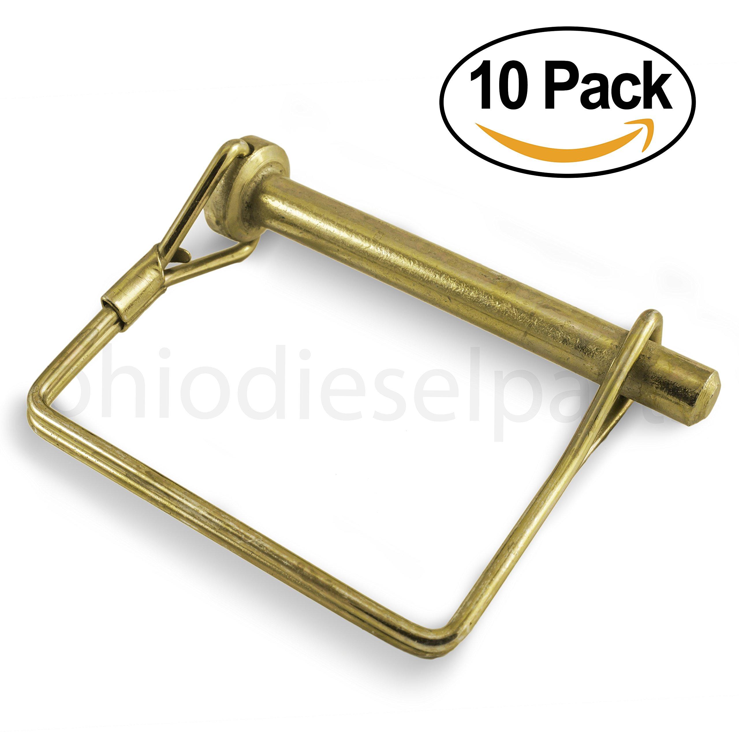 PTO Square Shaft Locking Pin 5/16'' x 2-1/4'' ( PACK of 10)