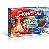 Winning Moves MONOPOLY Pokémon Kanto Edition - Schnapp sie dir alle! | Gesellschaftsspiel | Familienspiel | Spielklassiker |