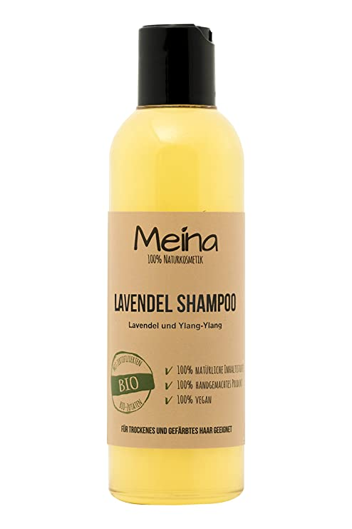 meina Natural cosmético – Natural – Champú con Lavanda y ylang-ylang (1 x