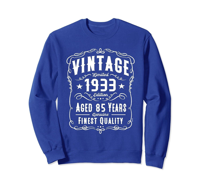 b7e6cd5198236 85th Birthday Gift Vintage 1933 Edition Sweatshirt-TH - TEEHELEN