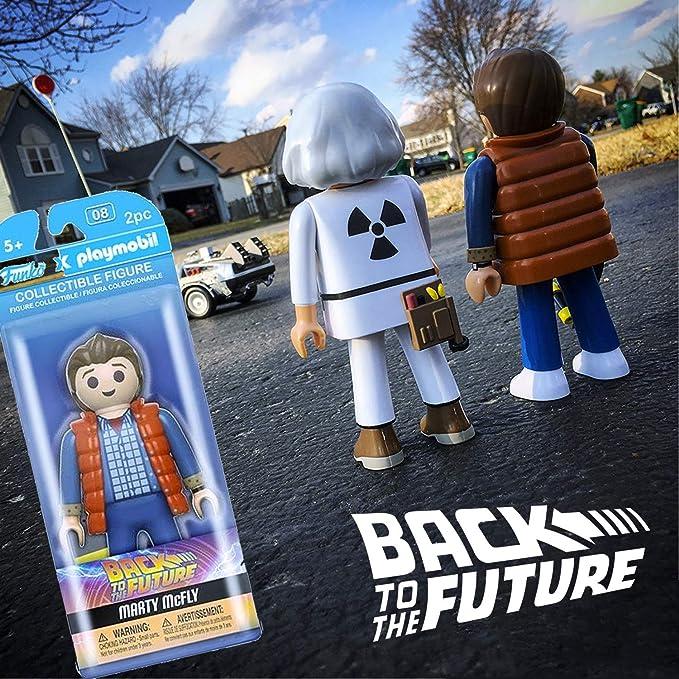 Back to The Future Marty Mcfly Playmobil Figura De Acción