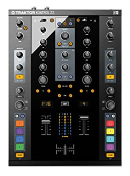 front facing native instruments traktor kontrol z2