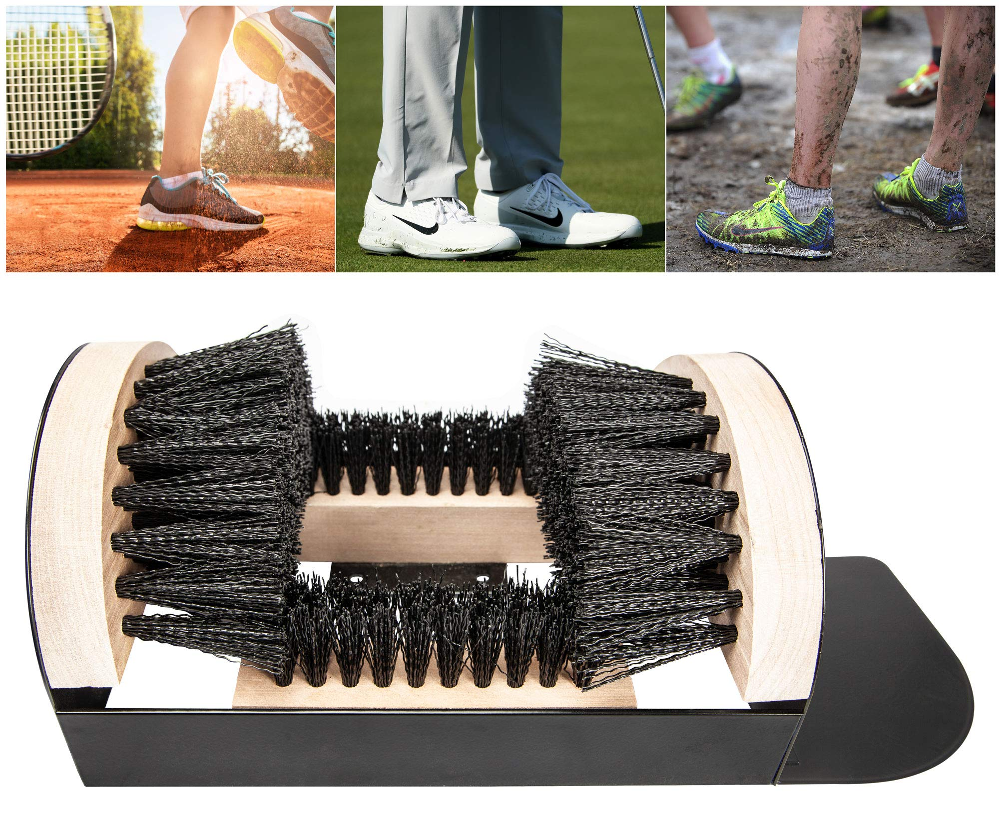 The Paragon Heavy Duty Boot Scraper, Tough Boot Scraper, Outdoor Boot Brush, Wide Width, Home, Commercial and Industrial Use by The Paragon (Image #2)