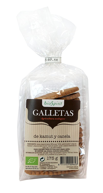 Biospirit Galletas de Kamut y Canela de Cultivo Ecológico ...