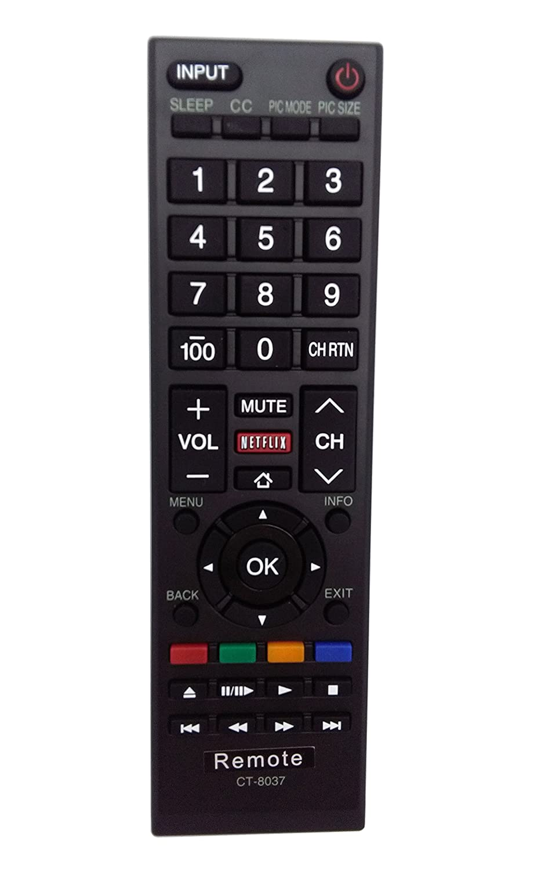 toshiba ct 8037 remote manual