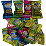 TNT Sour Chews 50 Bulk Value Pack Liquid Filled Gluten Free Lollies for Halloween Birthday Party Favours Candy Buffet Pinata Fillers Multi Pack