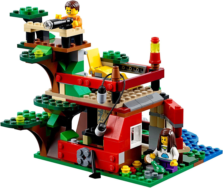 La casa del árbol de la jungla