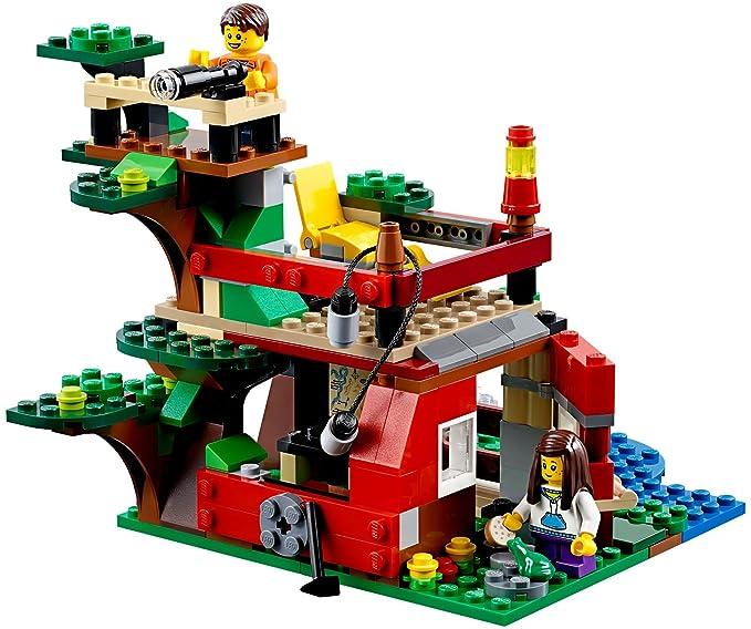 Cabane Lego Dans Les La 31053 Creator De L'arbre Jeu Construction Aventures vNnm8Oy0w