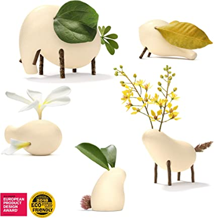 Taksa Toys Locomo Robbie - The Animal Figure Wooden Toy for Educational Outdoor Play to Trigger Child/'s Imagination and The Love of Nature Brown Eco-Friendly Waldorf Montessori Toy.