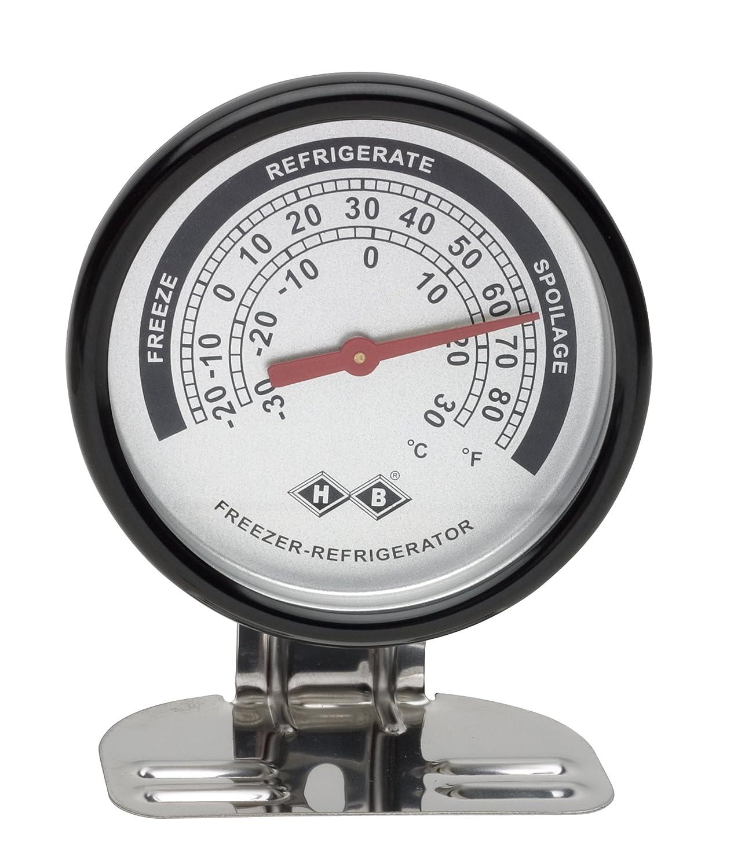 H-B DURAC - Termómetro bimetálico para frigorífico/congelador; -30 ...