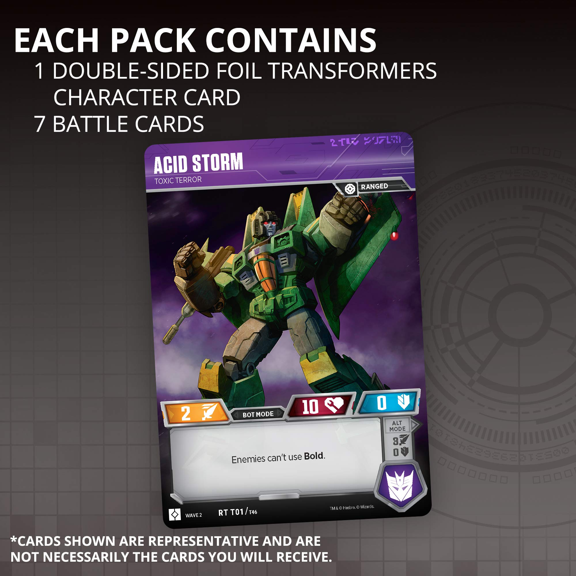 Transformers TCG: Rise of The Combiners Booster Box | 30 Booster Packs | 8 Transformers Cards Per Booster Pack by Transformers TCG (Image #2)