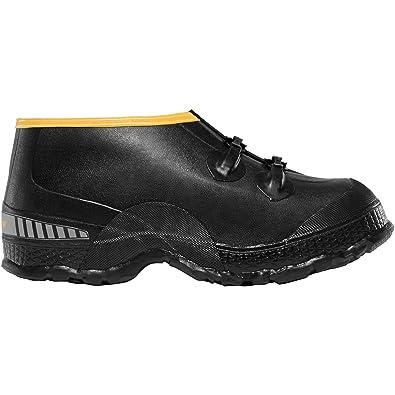 """ZXT Buckle Deep Heel Overshoe 5"""" Black (00267090)  Waterproof  Insulated Modern Comfortable Hunting Combat Boot Best For Mud Snow"""