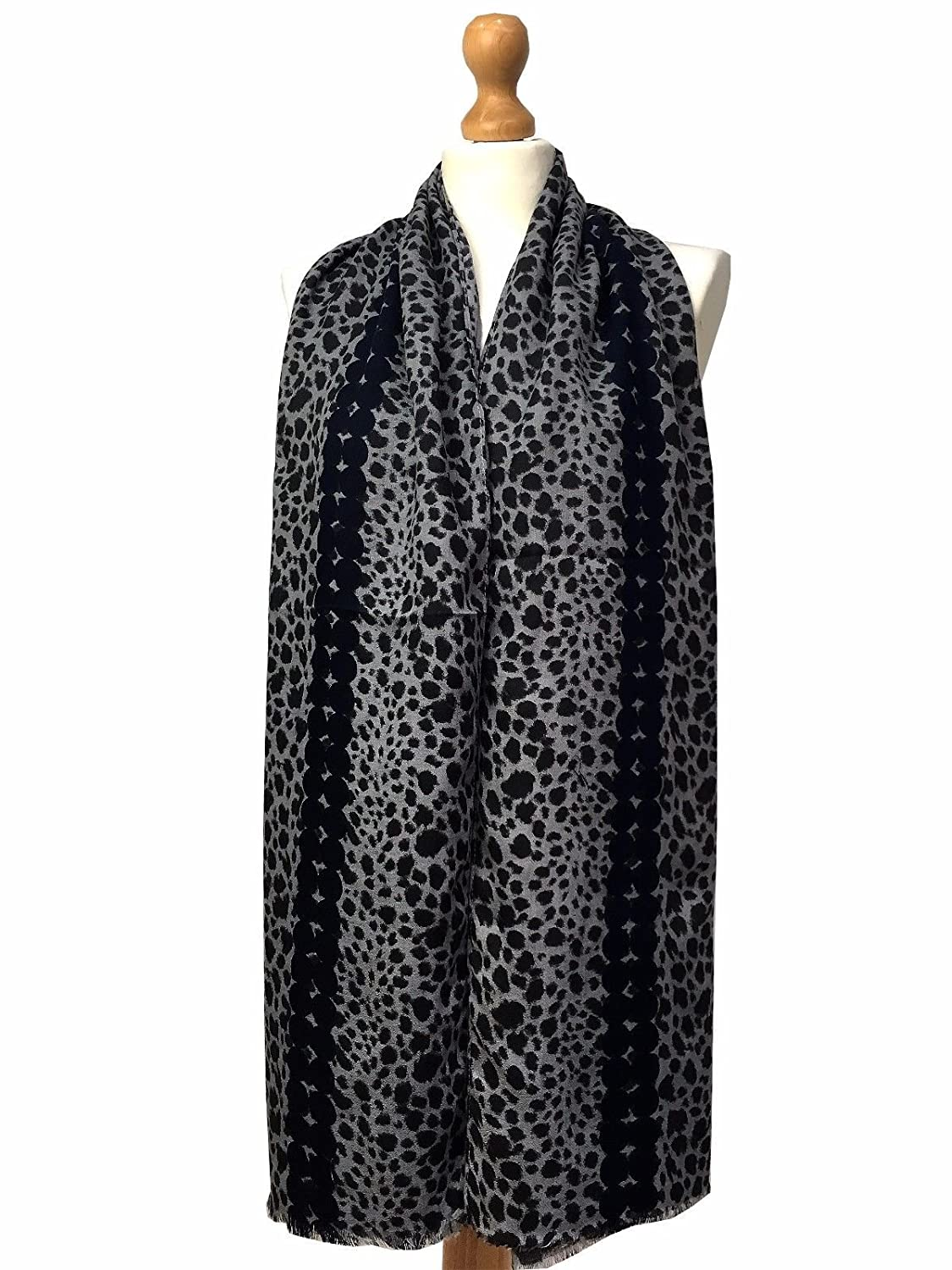 To acquire Leopard grey print scarf photo pictures trends