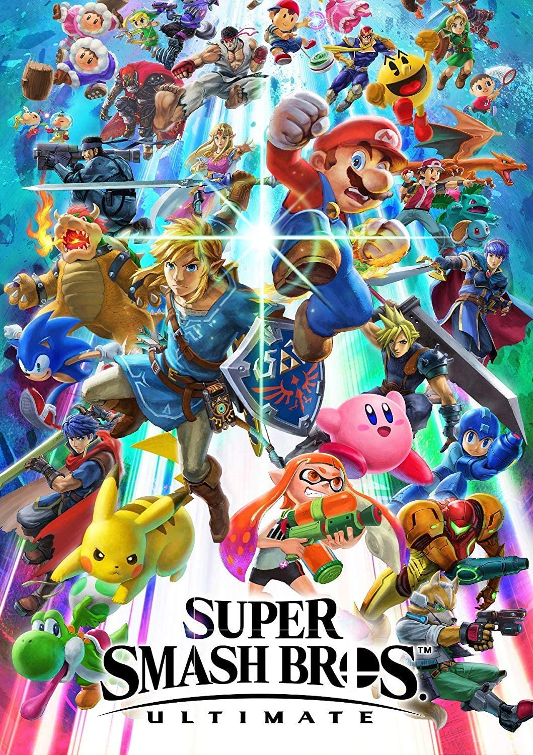 Super Smash Bros. Ultimate Poster: Amazon.es: Hogar