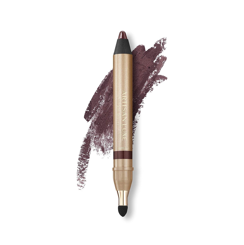 Velvet Eyeliner Pencil by Artisan L'uxe Beauty | Water-Resistant Jumbo Eye Pencil for Smokey Eye| Velvet Eye L'uxe | Sue Devitt | Deep Plum | Tempt