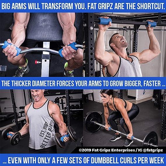 Fat Gripz - La Forma mas Simple y comprobada de Obtener bíceps y ...