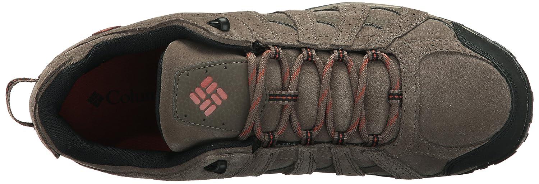 Columbia Mens REDMOND LEATHER OMNI-TECH Hiking Shoe