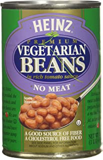 product image for Heinz Vegetarian Beans in Tomato Sauce, 16 oz, 6 pk