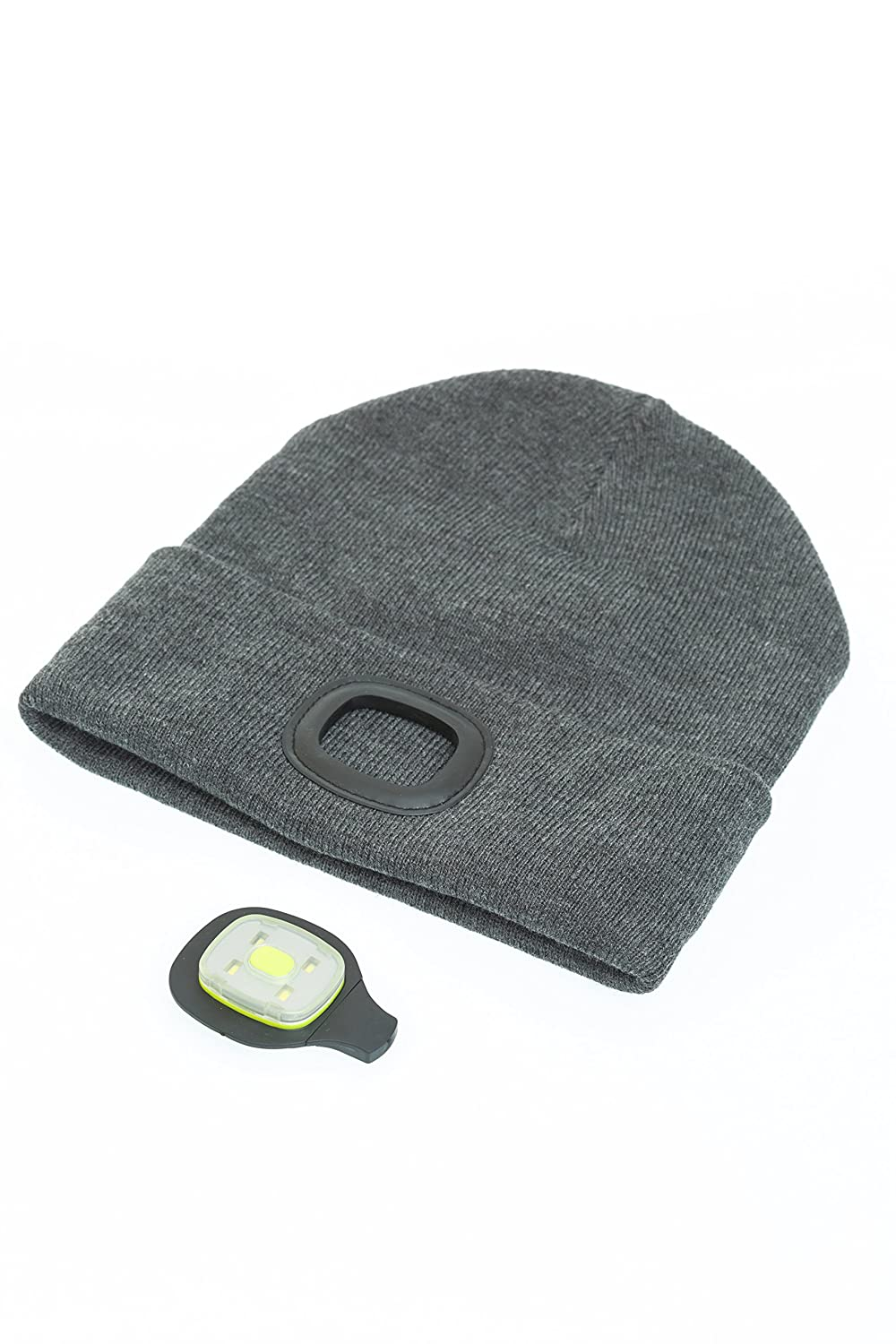 88ad9d67fc4 I Beanie Beanie Hat with Rechargeable LED Lights  Amazon.co.uk  Sports    Outdoors