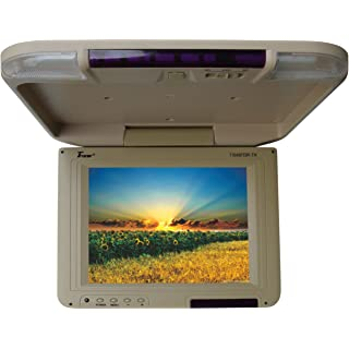 Tview T1045FDIR-TN 10.4-Inch Car Flip Down Monitor (Tan)
