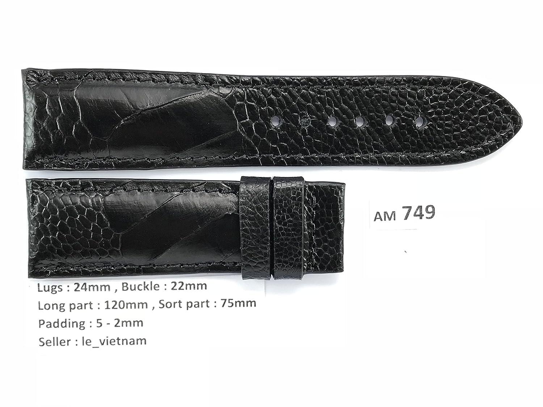 le_vietnam APPAREL メンズ US サイズ: 24mm / 22mm カラー: ブラック  B078JNSTMB