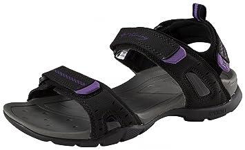 McKinley Trekking Sandale Sequel W Damen Outdoor-Freizeit Sandale schwarz / lila, Größe:41