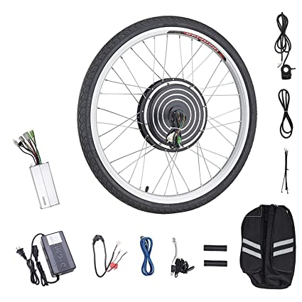 "b790d02e76f Pinty FT2000 26"" Front Wheel 48V 1000W Ebike Hub Motor Conversion Kit  with Dual Mode"