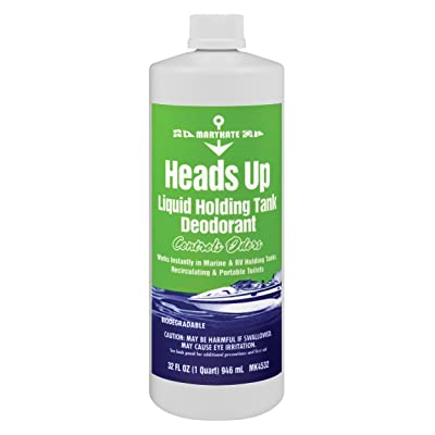 MaryKate 1 Quart Heads Up- Holding Tank Treatment: Sports & Outdoors