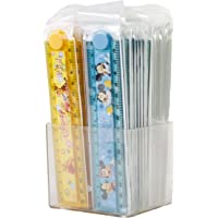 Parteet New Folding Scales with Stancil- Pack of 40Pcs for Birthday Party Return Gifts for Kids