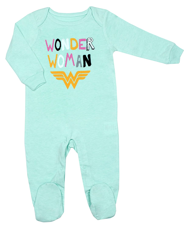 Wonder Woman - Infant Girl's Footed Sleeper NTD Apparel