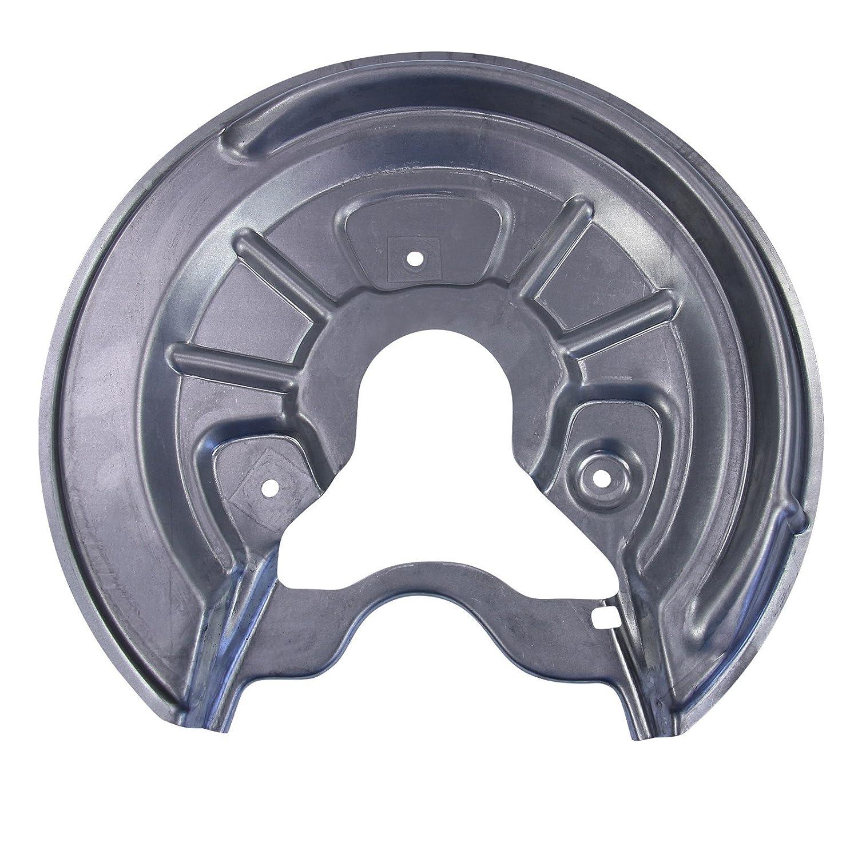 2x Deckblech Ankerblech Schutzblech Bremsscheibe Bremse hinten links rechts,