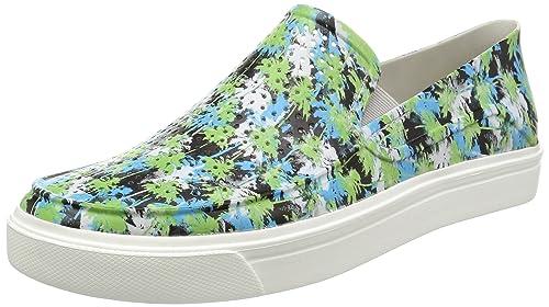Crocs Citilane Roka Tropical, Slippers para Hombre, Blanco (Electric/Blue/White), 36.5 EU: Amazon.es: Zapatos y complementos