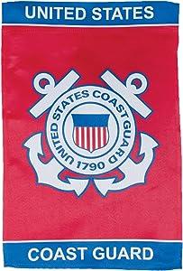 In the Breeze U.S. Coast Guard Lustre Garden Flag