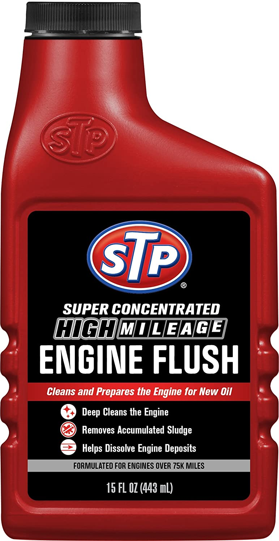 STP 18566 High Mileage Engine Flush