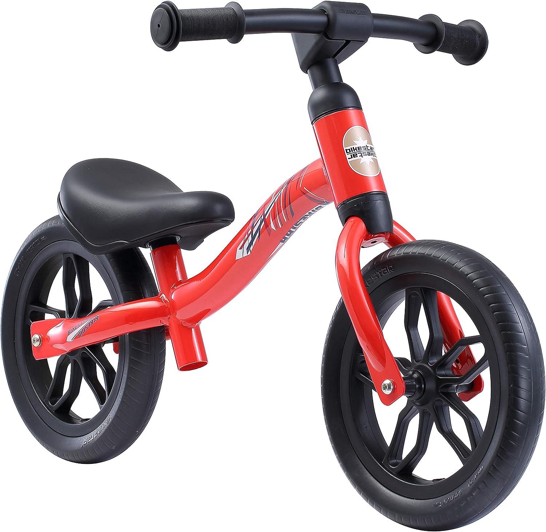 BIKESTAR 2-en-1 Bicicleta sin Pedales (Muy Ligero! 3KG!) para niños y niñas 2-3 años   Bici con Ruedas de 10