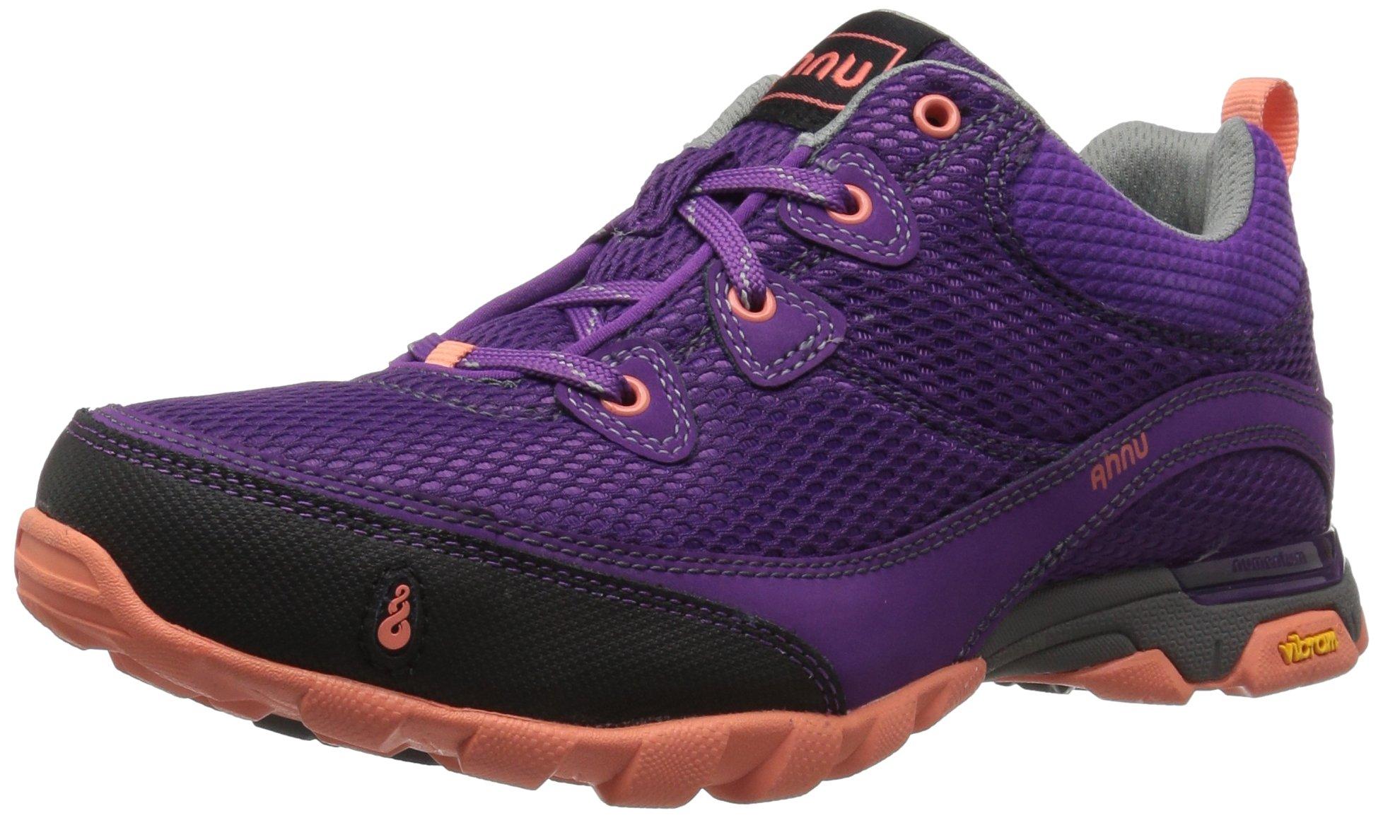 Ahnu Women's W Sugarpine Air Mesh Hiking Shoe, Bright Plum, 9 M US