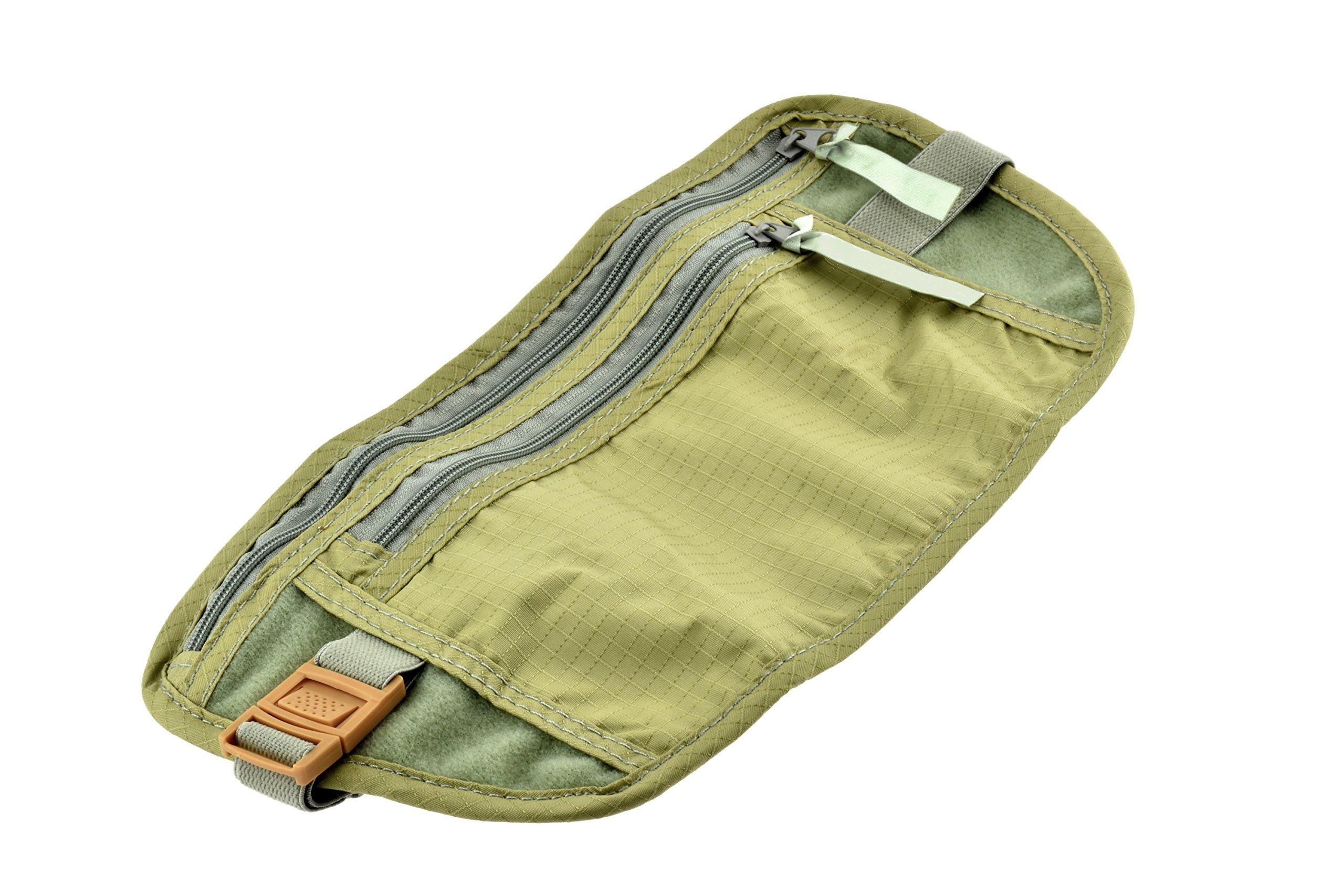SE TP101-POUCH Concealed Dual Zipper Travel Pouch by SE (Image #1)