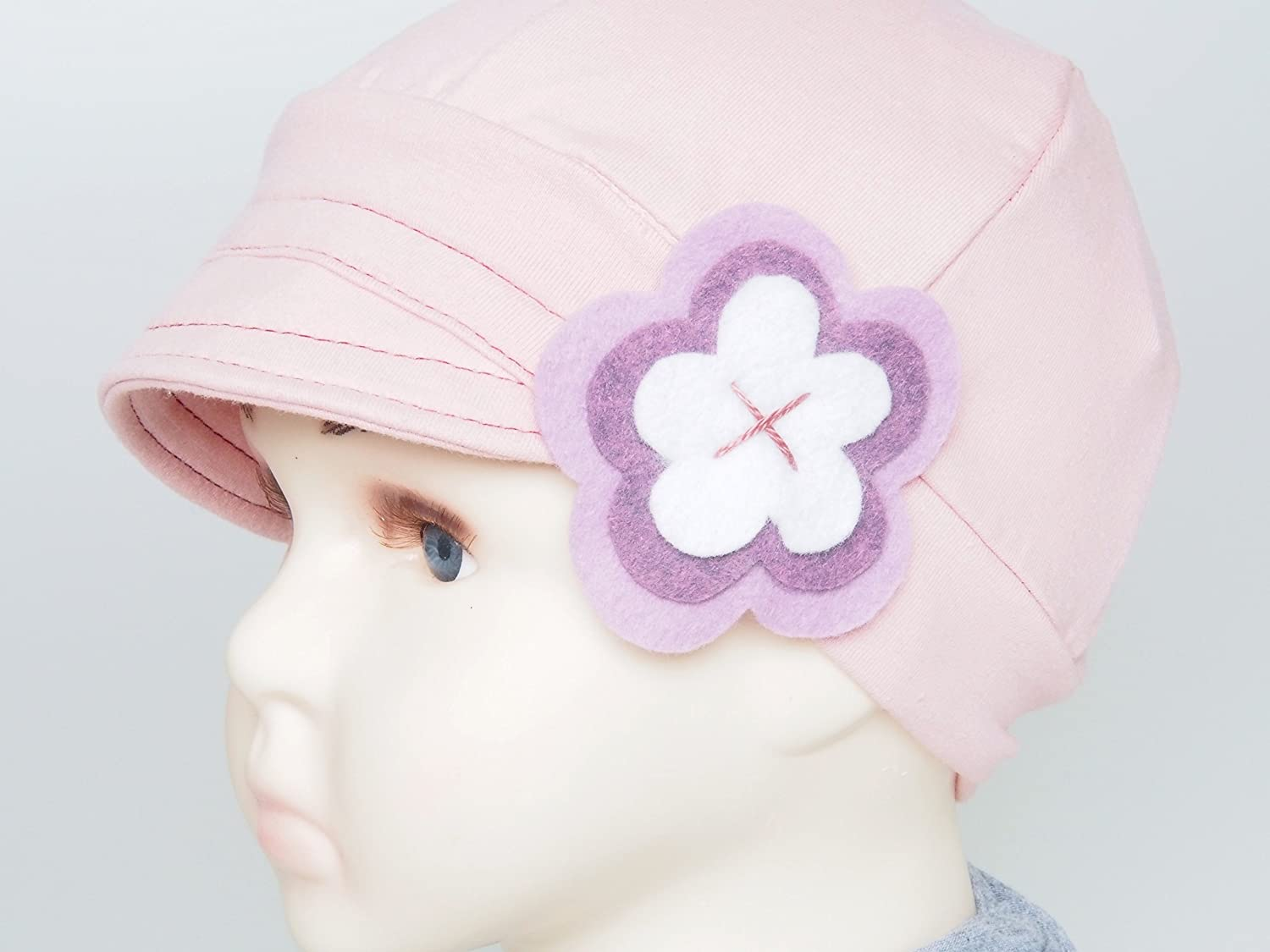 Kids Chemo hat, Alopecia Cotton Beanies, Chemo headwear, Full cover cap