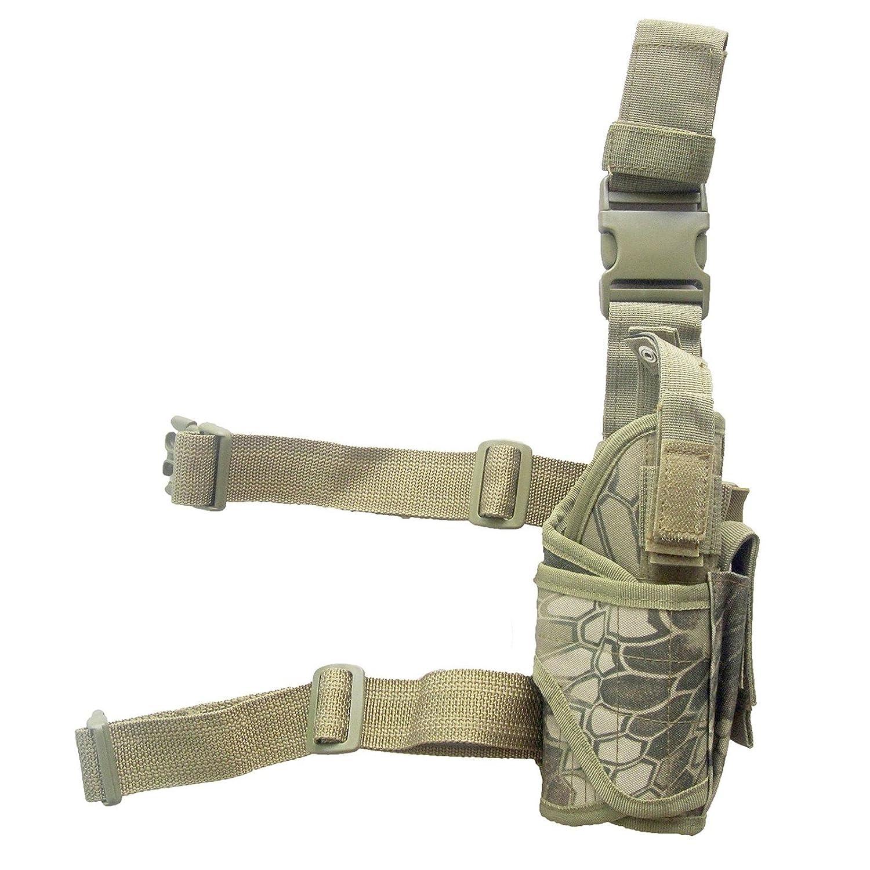 Area Shopping pistolera del Muslo Militar para el Airsoft Táctico Highlander Exagon Arma