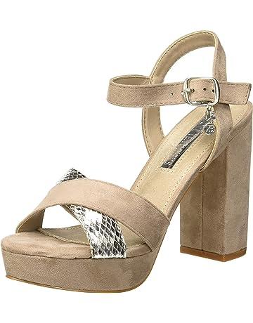 e8e123623dd XTI 32055, Zapatos con Tira de Tobillo para Mujer