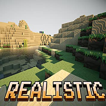 Amazon com: Realistic Shaders Mod and Pack for Minecraft PE