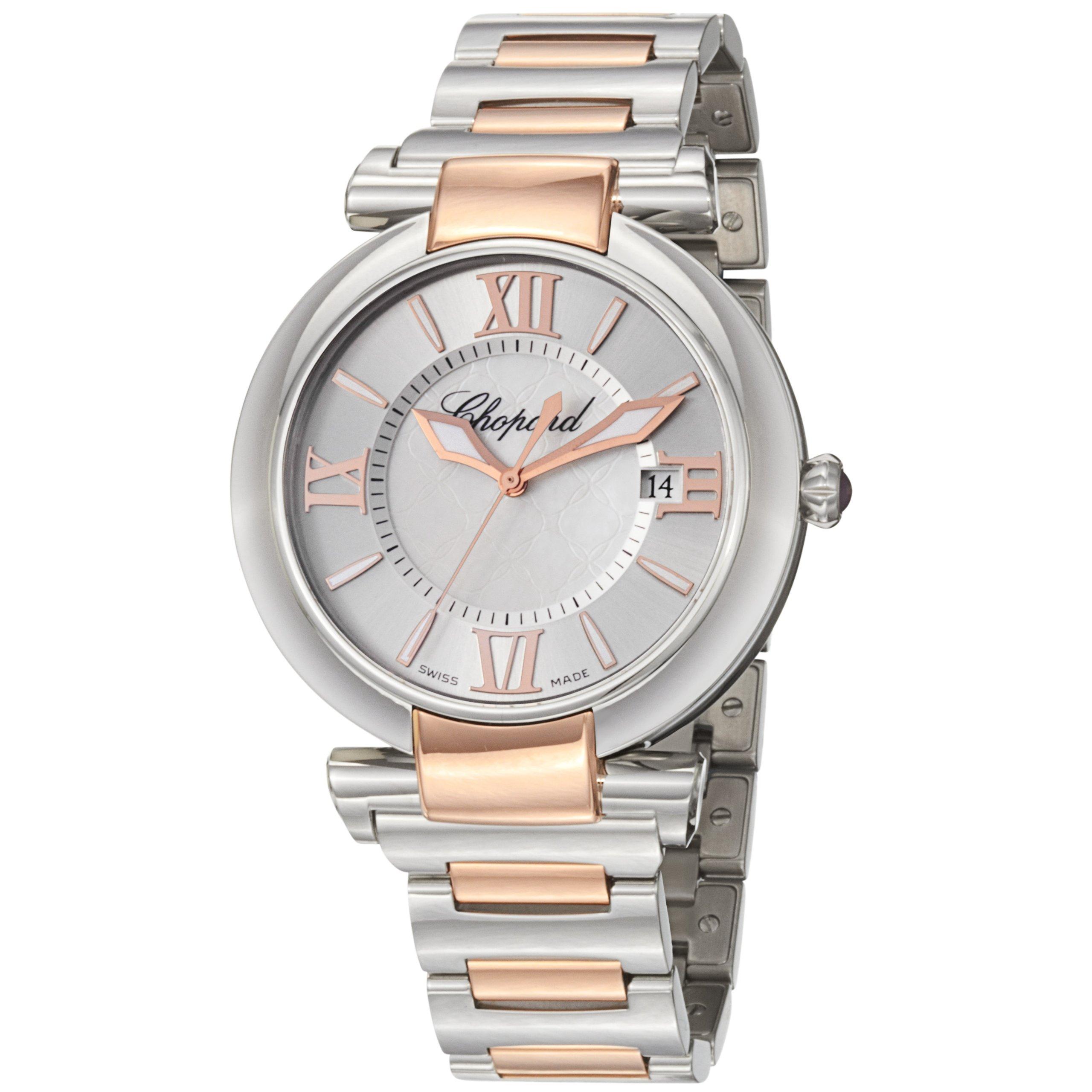Chopard Women's 388531-6002 Imperiale Two Tone Silver Dial Watch