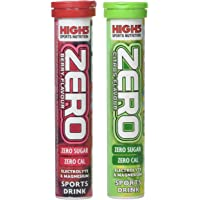 High 5 Zero Electrolyte Sports Drink Tube of 20 tabs - Buy 1 Get One Free